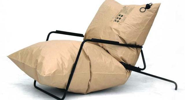 Meble pneumatyczne - Blow sofa. Nadmuchiwana bryła