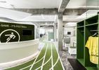Biuro jak boisko do piłki nożnej! Architektura wnętrz siedziby Onefootball w Berlinie