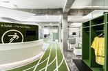 Pracownia architektoniczna TKEZ architecture & design z Monachium zaprojektowała architekturę wnętrz siedziby Onefootball