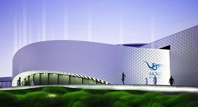 Nowa bryła hali sportowej w Jaworznie. Pierwsza nagroda w konkursie architektonicznym