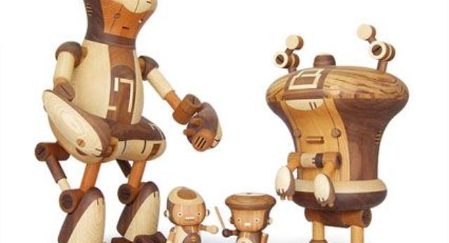 Design z japonii, bryły z drewna. Roboty i starożytne rzemiosło