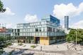 Thespian, bryła budynku z nietypowej perspektywy
