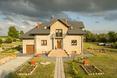 Bryła domu jednorodzinnego, Lubelszczyzna, zdjęcie z tyczki