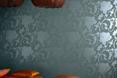 Jedwabna tapeta Byzance - architektura wnętrz z Tajlandii