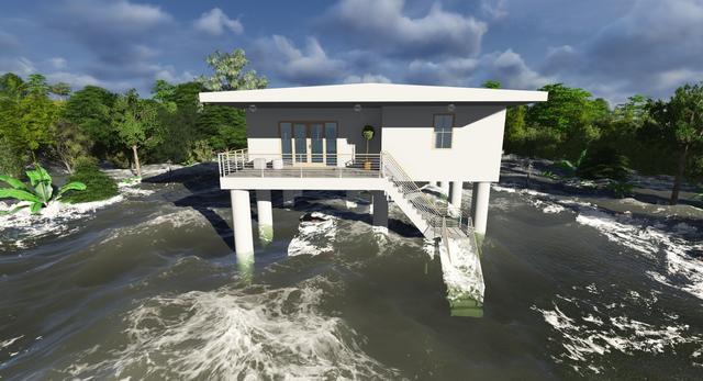 Dom odporny na tsunami
