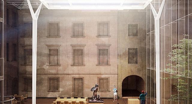 I nagroda w konkursie na zadaszenie lapidarium Muzeum Warszawy.  Autorzy: pracownia STIASNY/WACŁAWEK z Warszawy