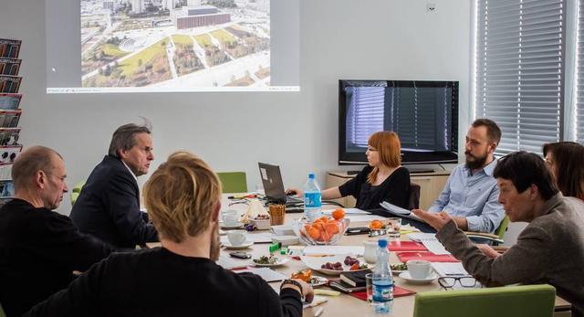 ŻYCIE W ARCHITEKTURZE, obrady jury, luty 2015