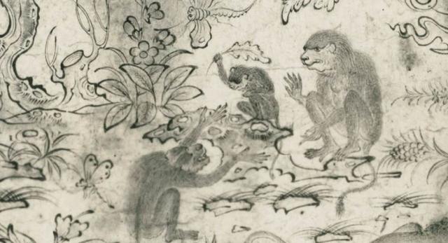 Singerie to dekoracja z motywem małp