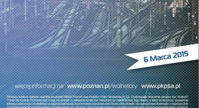 Wolne Tory w Poznaniu - konkurs architektoniczny