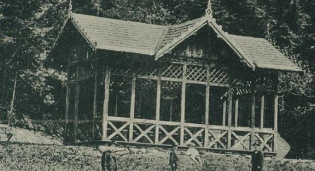 Altana na Michasiowej w Krynicy. Fot. Polona