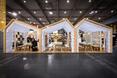 Pracownia architektoniczna mode:lina, pawilony wystawowe na Arena Design 2015