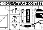 Konkurs na projekt plandeki. DESIGN-A-TRUCK