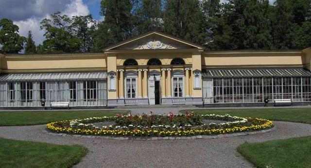 Oranżeria w Finspång Castle, Szwecja. Fot. Thuresson