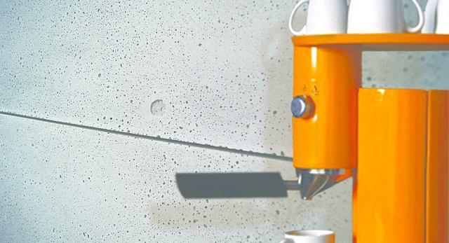 Płyty z betonu architektonicznego zamiast tapety