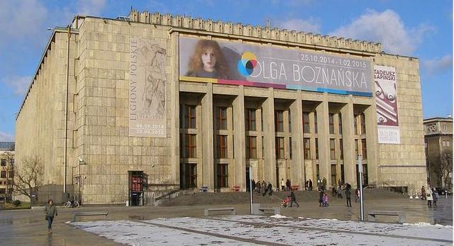 Gmach Główny Muzeum Narodowego w Krakowie, fot. Andrzej Otrębski