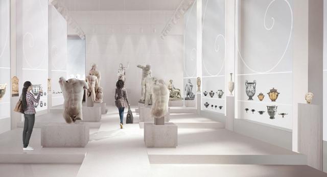 Architektura wnętrz Galerii Sztuki Starożytnej