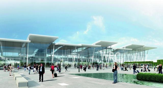 JSK Architekci: lotnisko we Wrocławiu