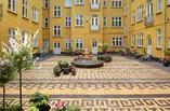 Współczesna architektura krajobrazu Skandynawii,1:1 landskab, dziedziniec Classensgad
