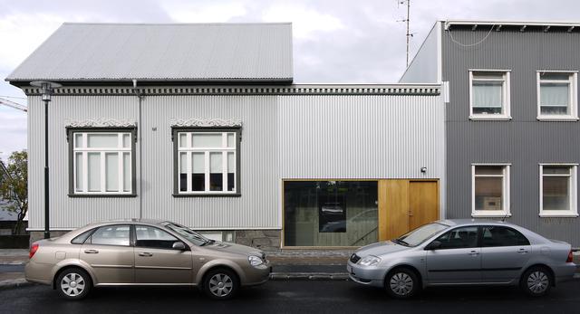 Projekt H71a –mały dom i studio fotograficzne w Reykjavíku