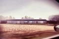 Niska, wydłużona bryła domu projektu Tissellistudio