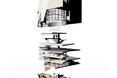 Cegła w architekturze współczesnej autorstwa pracowni O'Donnell + Tuomey – schemat budynku