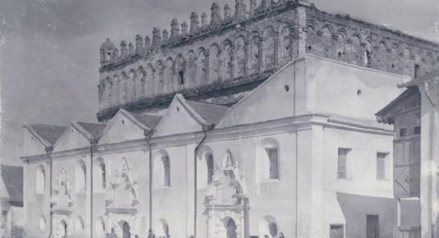 Synagoga w Żółkwi, ok 1905