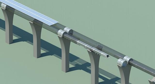 Transport przyszłości: superszybka kolej Hyperloop