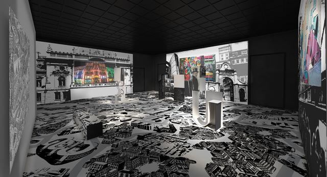Architektura wnętrz Sali Regionów. Polski pawilon na Expo 2015 w Mediolanie