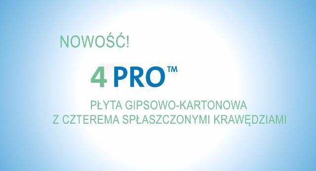 Plakat płyt g-k 4PRO