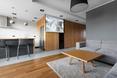 Mieszkanie Open Private, mode:lina. Część reprezentacyjna
