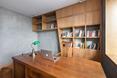 Gabinet w poznańskim mieszkaniu projektu mode:lina