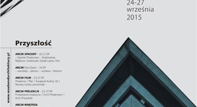 Weekend Architektury w Gdyni 2015. Wspóczesna architektura i modernizm