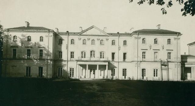 Pałac Branickich w Białymstoku, fot. ok 1930, Polona
