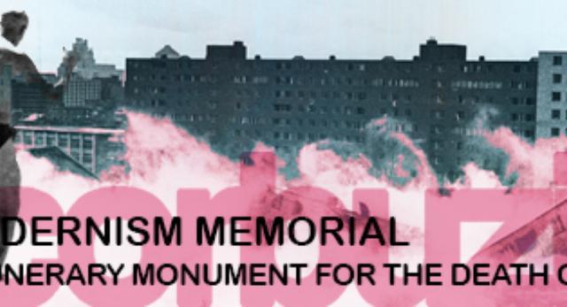 Pomnik - nagrobek modernizmu