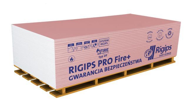 Płyta g-k RIGIPS PRO Fire+ typ DF