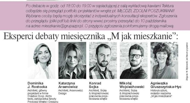 Łódź Design Festival: debata miesięcznika M jak mieszkanie