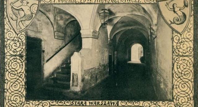 Sień domu Baryczków w Warszawie, Polona
