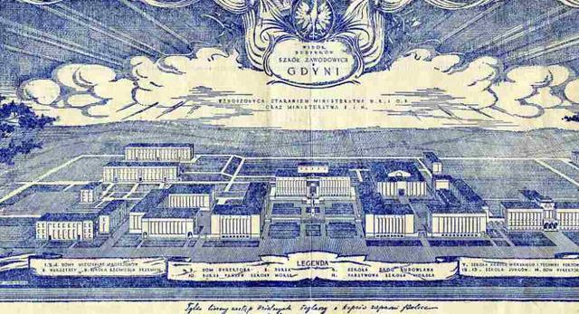 Akademia Morska w Gdyni; bryły uczelnianych obiektów
