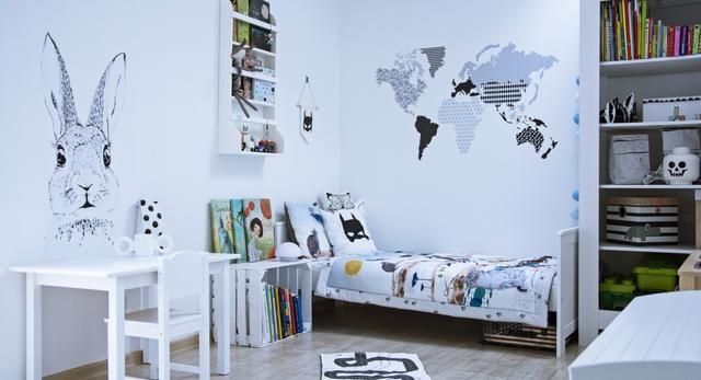 Biały pokój dla przedszkolaka, czyli prosta historia