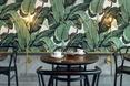 Stoliki w herbaciarni Odette. Architektura wnętrz
