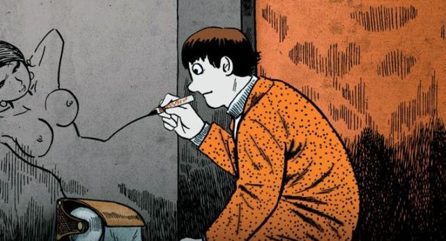 Gekiga. Kadr z filmu Tatsumi