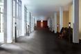 Foyer Centrum Muzyki Krzysztofa Pendereckiego w Lusławicach