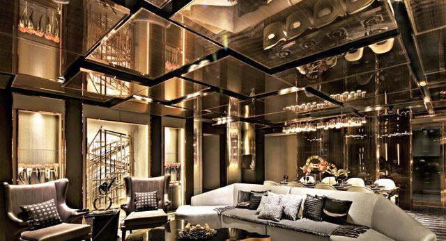 Architektura wnętrz penthouse w Syczuanie