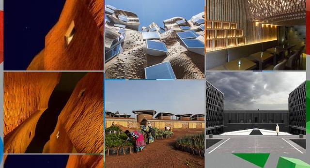 Konkurs architektoniczny Wienerberger Brick Award 2016, niektóre z nominowanych budynków