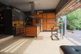 Zen Loft, harmonijkowe drzwi