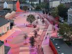 Nietypowa przestrzeń publiczna w Kopenhadze