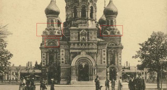 Cerkiew w Alejach Ujazdowskich, 1906