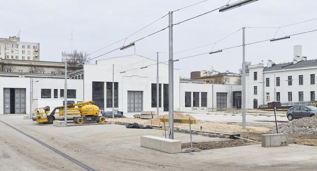 Budowa Nowego Teatru w Warszawie
