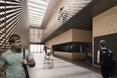 Architektura wnętrz centrum sportowego UAM