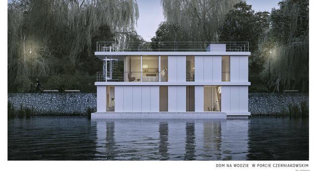 Tak ma wyglądać warszawski dom na wodzie